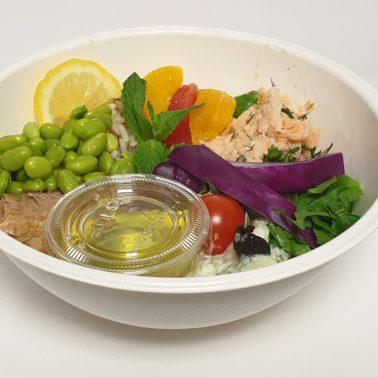 Salmon & Tuna Bowl